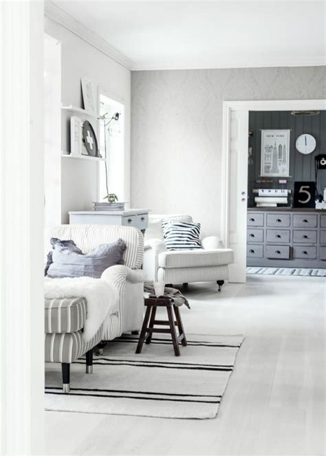 tapis blanc pour une maison harmonieuse  elegante