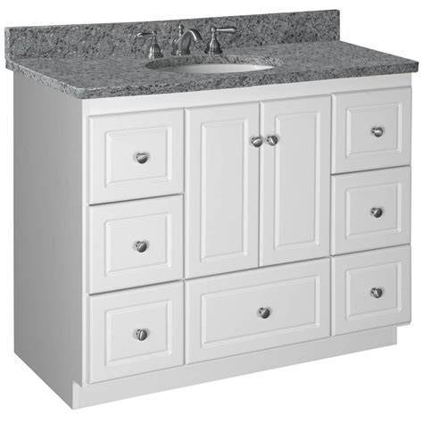 How Are Bathroom Base Cabinets by Strasser Woodenworks Simplicity 43 Quot Single Cabinet
