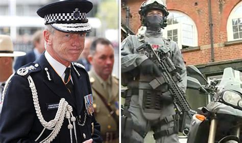 Met Police Demonstrate Strength As Armed Motorcycle Police Introduced Amidst Terror Threat