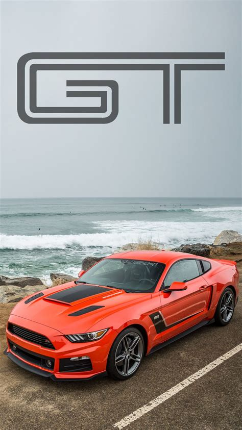 roush ford mustang  universal phone wallpapers