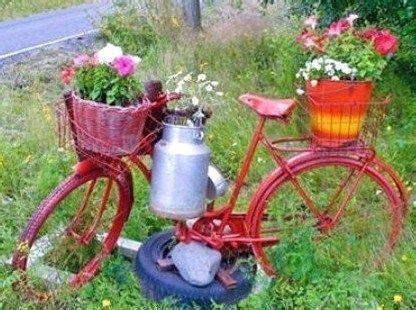 belles idees recup  deco pour le jardin jardin