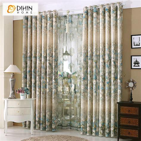 dihin 1 pc curtain ready made high end garden window