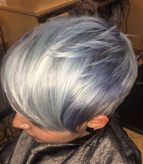 super cool grey hairstyles  young   gray hot