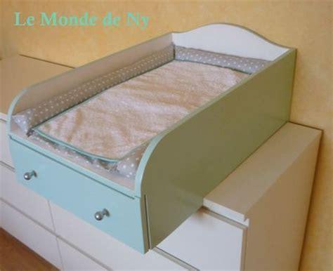 commode chambre ikea table à langer pour commode malm ikea chambre bebe