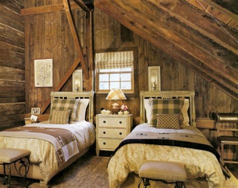 Rustic Barns Bedroom Design Ideas