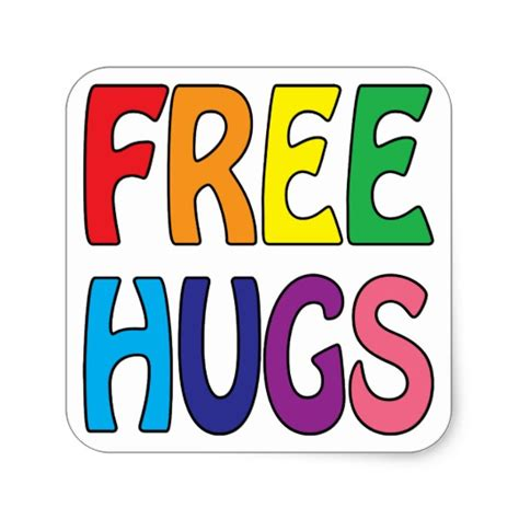 Free Hugs Square Sticker  Zazzlem. Explosion Logo. Hindi Logo. Heart Logo. Temporary Traffic Signs Of Stroke. Marriage Signs. Red Flags Signs. Child Pathophysiology Signs. Grandparent Signs
