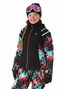 Color Chart Obermeyer Taja Print Snow Jacket Girls Snow Jacket