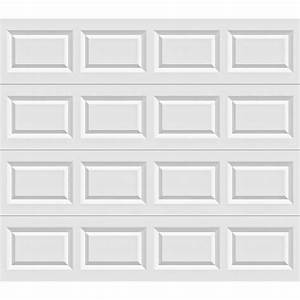 clopay value series 8 ft x 7 ft non insulated garage door With 8 ft insulated garage door