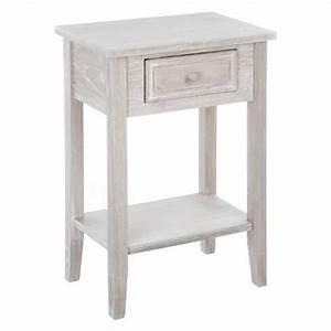 Meuble De Chevet : meuble bois blanc vieilli cool meuble bois blanc vieilli with meuble bois blanc vieilli good ~ Teatrodelosmanantiales.com Idées de Décoration