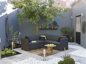 Salon De Jardin Terrasse : terrasse amenagee jardin ~ Teatrodelosmanantiales.com Idées de Décoration