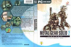 Metal Gear Solid 2 Covers MGS2 (PS2/Playstation 2/PS3 ...