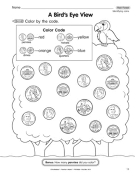 13 Best Images Of Identify Coins Worksheet  Coin Value Chart Worksheets, Worksheet Identifying