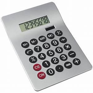 Grande Calculatrice De Bureau Publicitaire