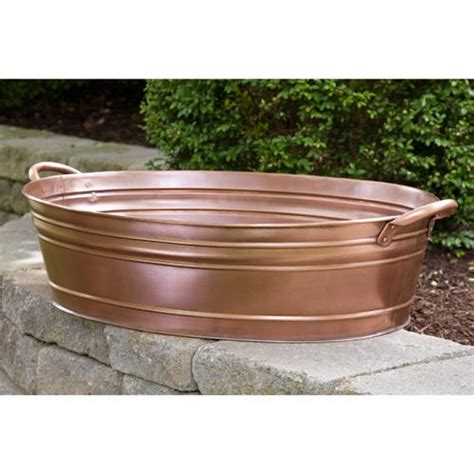 beverage tub canada large oval smooth copper beverage tub beverage tubs