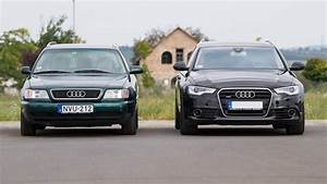 Garage Audi 92 : totalcar tesztek sszehasonl t teszt audi a6 1996 vs audi a6 2012 ~ Gottalentnigeria.com Avis de Voitures