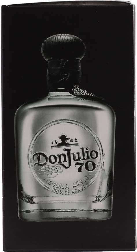 don julio  tequila anejo claro  liter  vol