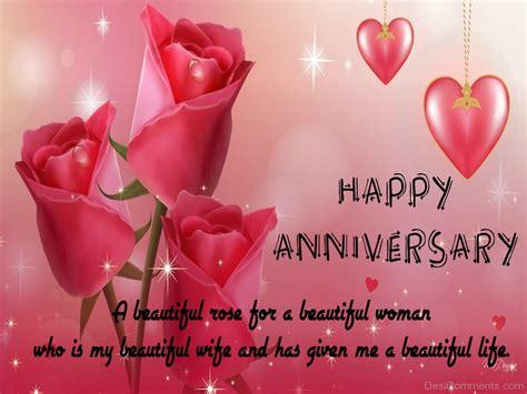 happy anniversary  beautiful rose desicommentscom