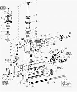 Porter Cable Ns150c Parts List And Diagram
