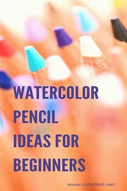 Pencil Colored Techniques Beginners Watercolor 4pint Tutorials