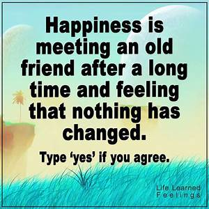 Friends And Friendship Quotes | Happiness is meeting an ...