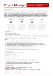 Resume Ideas For Project Managers by Excellent Project Manager Resume The Best Letter Sle