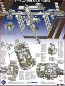 Spaceexp  Very Detailed Diagram Of The International Space