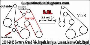 Ford Escape Serpentine Belt Diagram