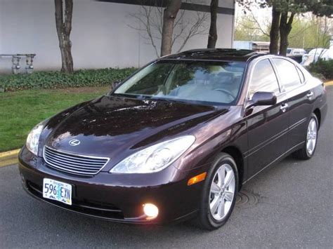 lexus cars 2006 2006 lexus es 330 information and photos momentcar