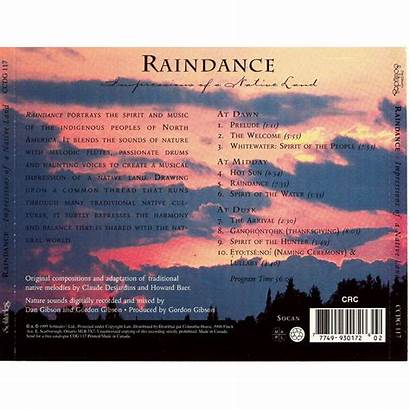 Raindance Native Album Land Impressions Dan Gibson