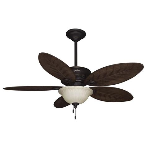 hunter 54 ceiling fan hunter grand cayman 54 in onyx bengal d rated ceiling