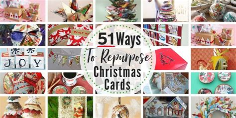 51 Epic Recycled Christmas Card Crafts