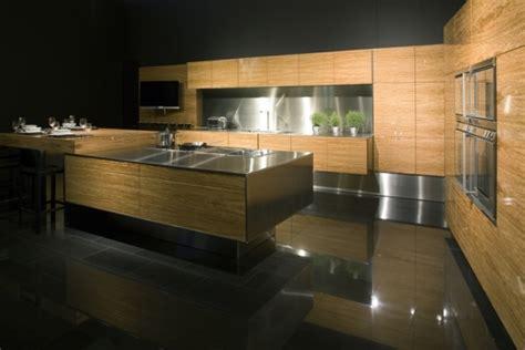 cuisine am ag contemporaine une cuisine design et moderne toute en bois
