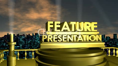 Feature Presentation HD1080: Royalty-free video and stock ...