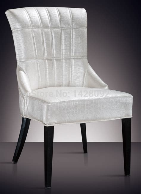 comfortable dining chairs european and american style comfortable white upholstered