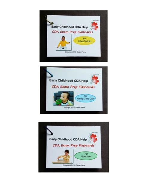 cda for preschool teachers cda prep flashcards set infant toddler preschool 254