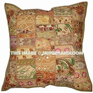 24quot red floor cushions handmade indian throw pillows for With buy sofa pillows online
