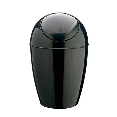 Small Bathroom Trash Can by Umbra Small Trash Can Black In Small Trash Cans