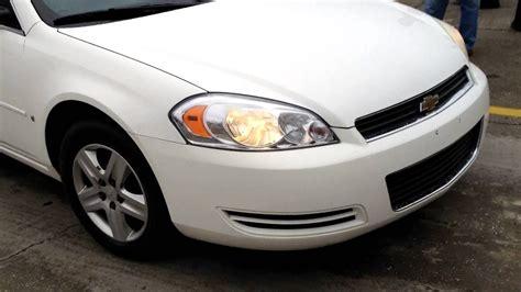 Smoking Chevrolet Impala Blown Head Gasket