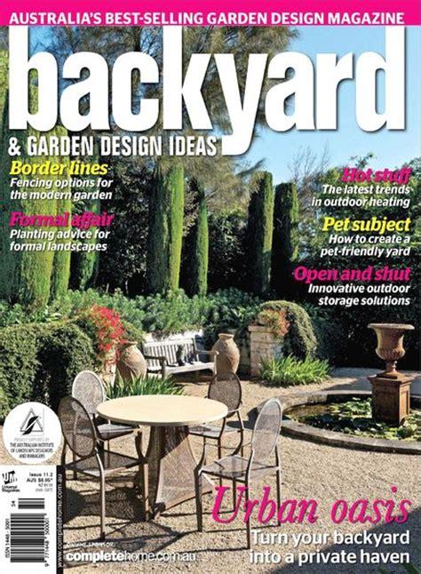 Download Backyard & Garden Design Ideas Magazine Issue 11