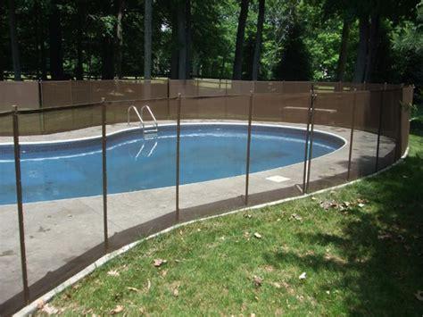 Inground Pool Safety Fences