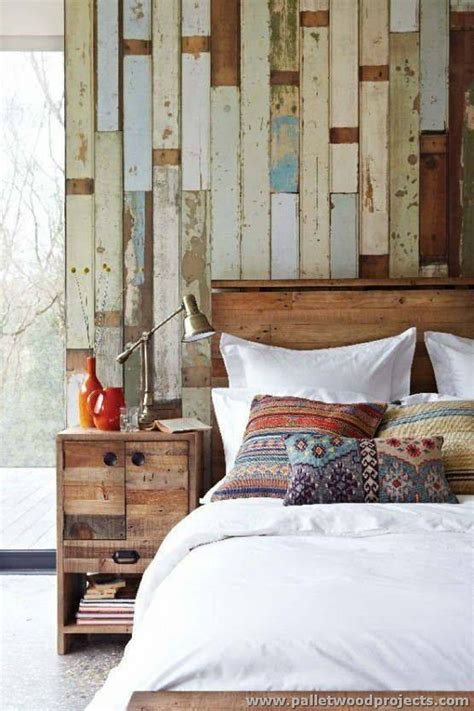 accent wall    pallets pallet wood projects
