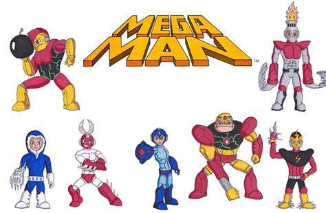 Mega Man 1 Characters Poster By Ninjadude719 On Deviantart