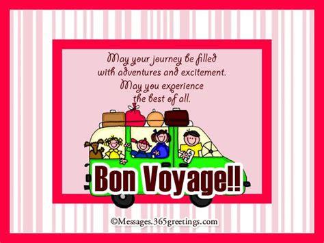 bon voyage messages   projects   bon
