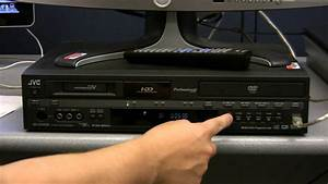 The Jvc 3-in-1 Deck  Capturing Footage From A Minidv Tape
