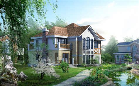 hd cool 3d beautiful house 3d huizen wallpapers hd wallpapers