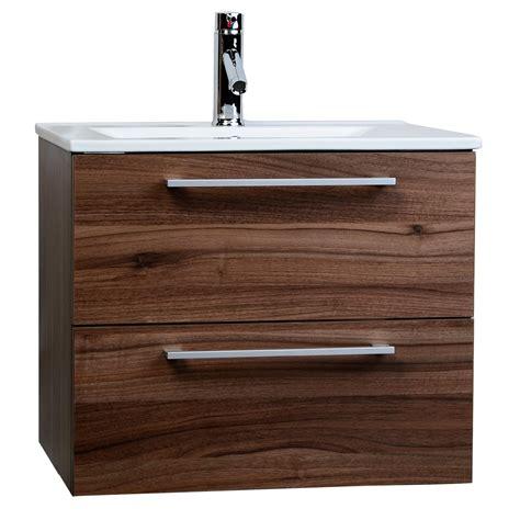 Mounted Vanity by European Styled Caen 23 5 Quot Single Bathroom Vanity Set In