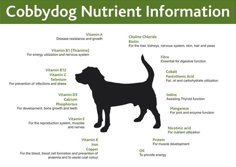 cobbydog dog food nutrition dog food diet healthy