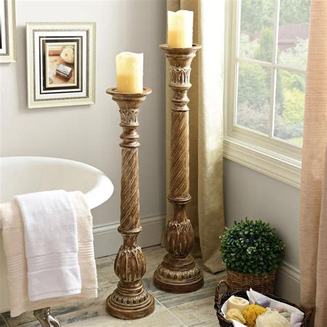 floor candle holder sets pictures to pin on pinterest