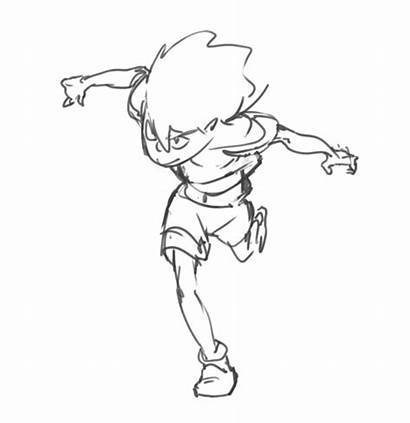 Animation Running Reference Animated Run Anime Drawing