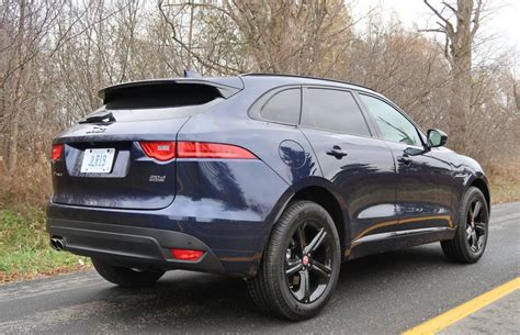 Suv Review 2018 Jaguar Fpace Diesel Driving